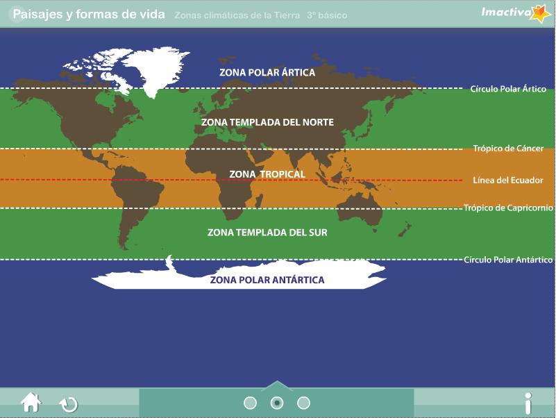 Zonas clim�ticas de la Tierra � Recursos digitales educativos