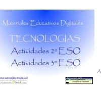 Tecnologías Actividades 2º y 3º ESO