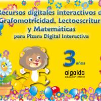 Algaida:Recursos digitales interactivos de grafomotricidad, lectoescritura y matemáticas para PDI