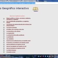 Atlas geográfico interactivo