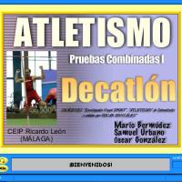 Pruebas combinadas de atletismo I: Decathlón