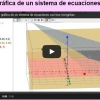 Idea Gráfica Sistemas de Ecuaciones