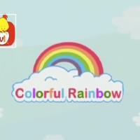 El color naranja - Los colores del arco iris, para niños.
