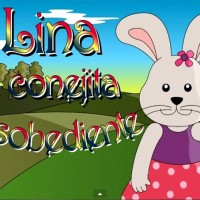 Lina, la conejita desobediente.