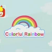 El color rosa - Los colores del arco iris, para niños.