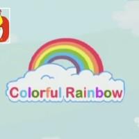 El color azul - Los colores del arco iris, para niños.