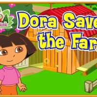 Juego de Dora en la Granja.