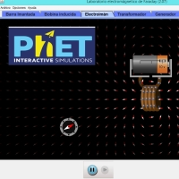 Simulaciones interactivas de Ciencia. Electricidad, Magnetismo y circuitos