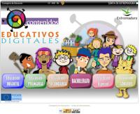 Contenidos educativos digitales -Junta de Extremadura.