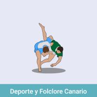 Acomola: Deporte y folclore canario
