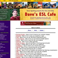 Dave's ESL Cafe Idea Cookbook