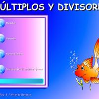 Múltiplos y divisores: descomposición de factores primos