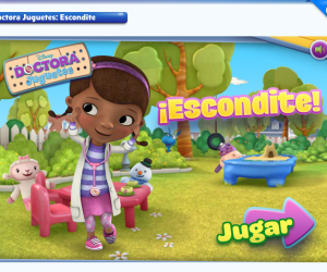 Doctora Juguetes: escondite