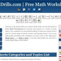 math drills