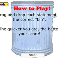 dustbin game