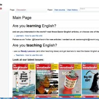 Easier English Wiki