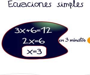 ecuaciones de primer grado en 3 minutos
