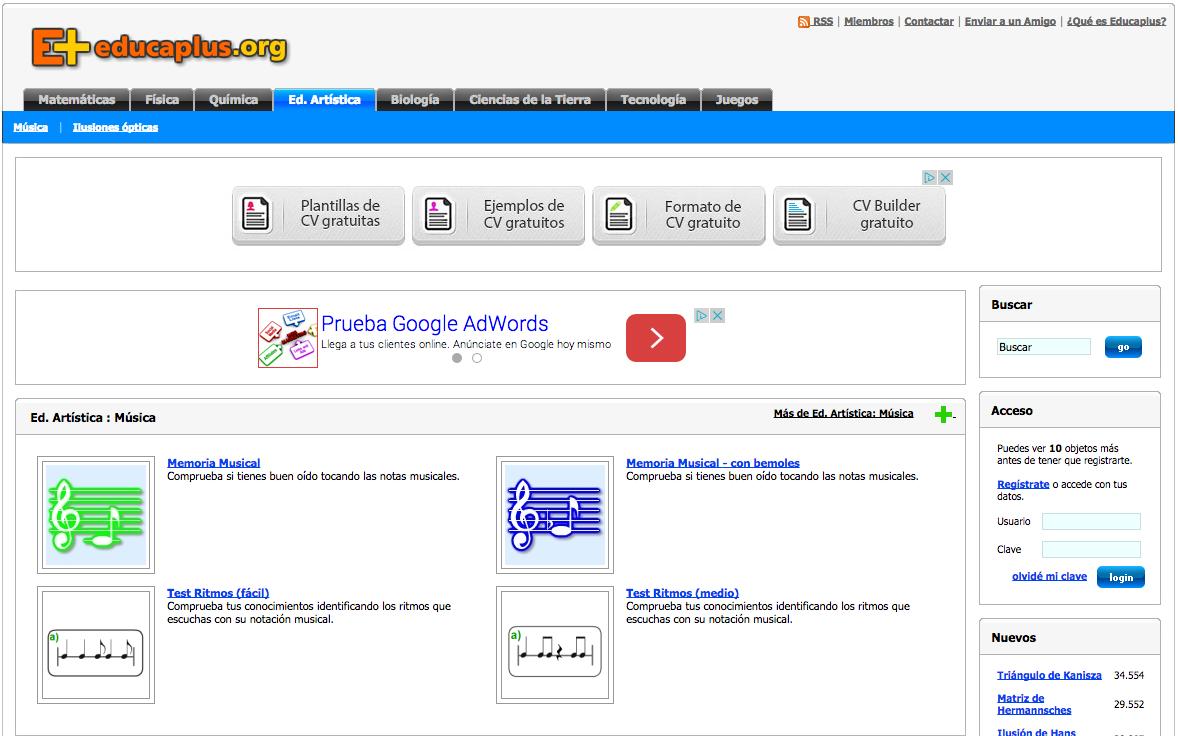 Educaplus recursos educativos digitales relacionado urtaz Images