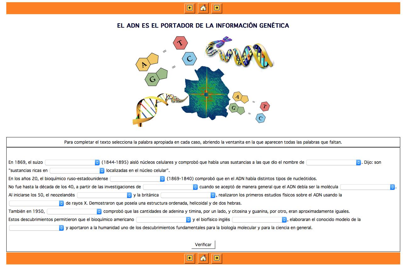 Ejercicios interactivos de Biología » Recursos educativos digitales