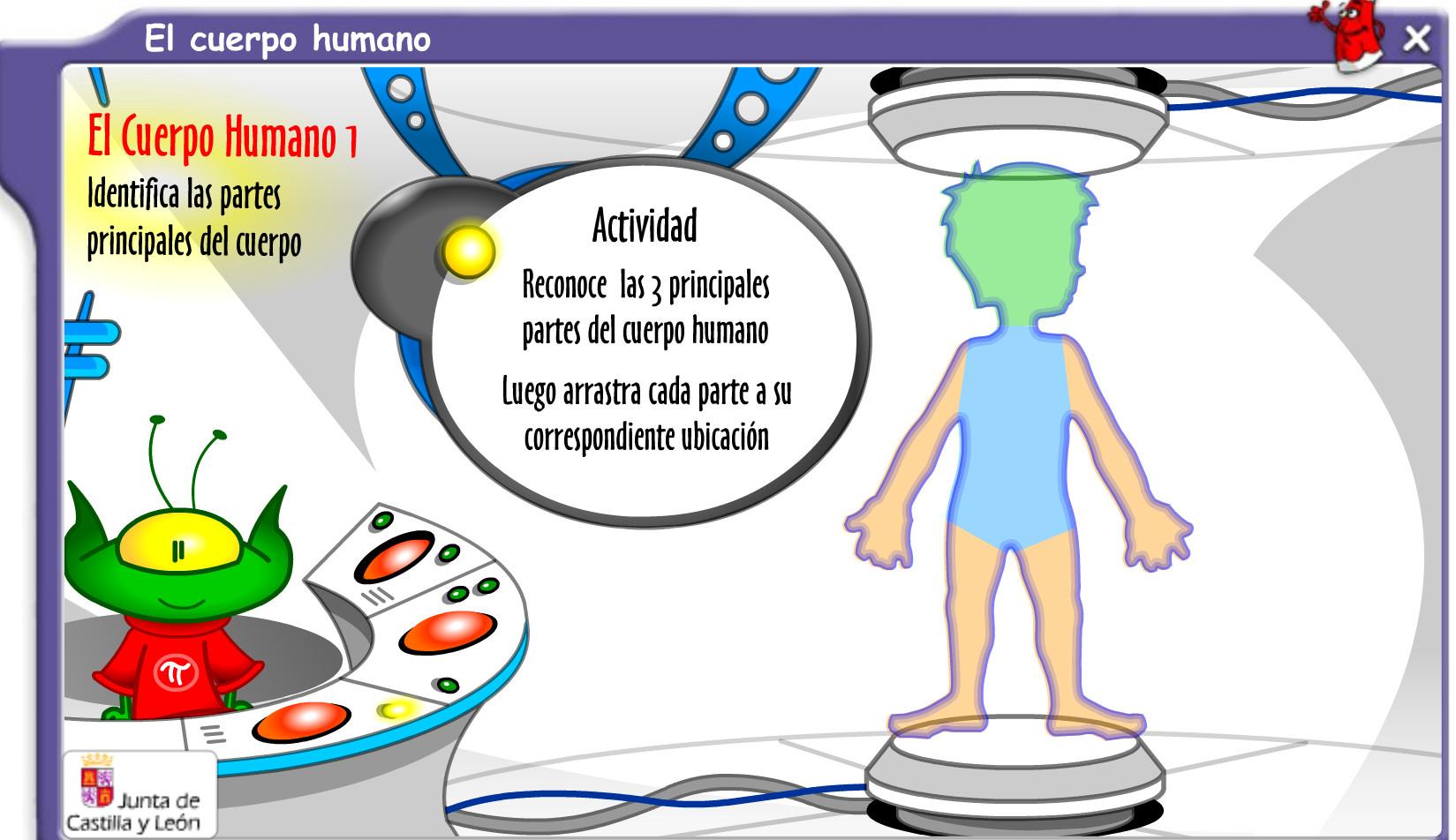 El cuerpo humano, por dento y por fuera » Recursos educativos digitales