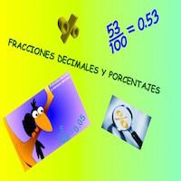 Fracciones decimales y porcentajes