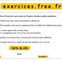 Exercices des matières en français