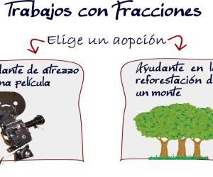 fracción de la fracción (problemas)