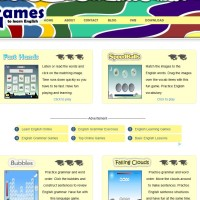 Games to learn English for students