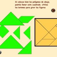 Puzzles geométricos