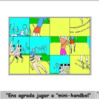 Introducción al mini-handbol