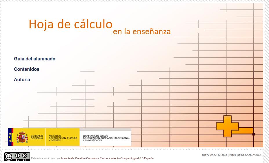 Hoja de Cálculo en la Enseñanza » Recursos educativos digitales