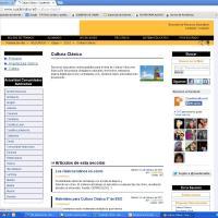 Cuadernalia. Portal educativo: Cultura Clásica