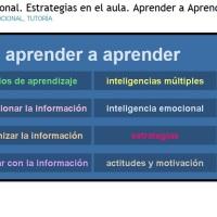 Inteligencia Emocional. Estrategias en el aula. Aprender a Aprender