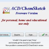 ACD/ChemSketch Freeware