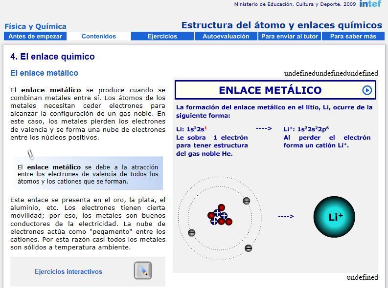 Estructura del tomo y enlaces qumicos recursos educativos digitales comparte esto urtaz Image collections