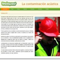 Webquest: La contaminación acústica