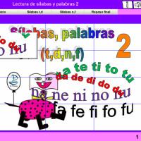 Lectura de sílabas y palabras 2