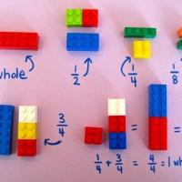 Uso de lego en matemáticas