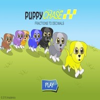Puppy chase