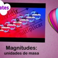 Magnitudes:unidades de masa