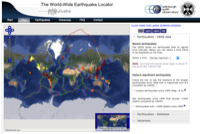 The World-Wide Earthquake Locator