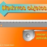 Medimos objetos