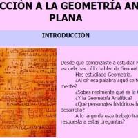WQ Geomatría Analítica Plana