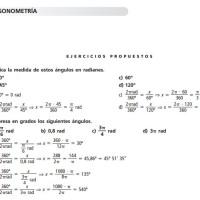 Problemas de trigonometría