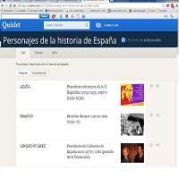 Quizlet: Personajes de la Hª de España
