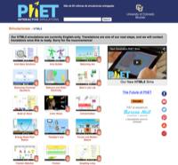 Phet, simuladores gratuitos descargables y online.