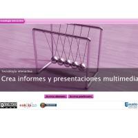 Crea informes y presentaciones multimedia
