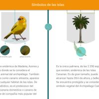 HTML5: Símbolos de las islas