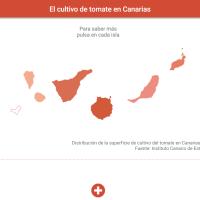 HTML5: El cultivo de tomate en Canarias