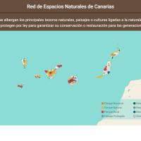 HTML5: Red de Espacios Naturales de Canarias